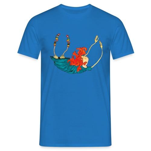 Frit fald - Herre-T-shirt