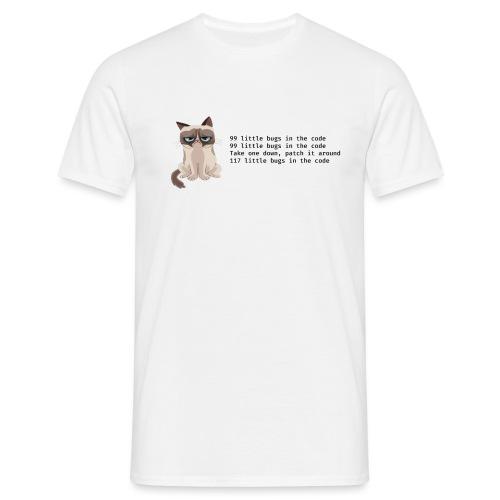 99 litle bugs of code - Mannen T-shirt