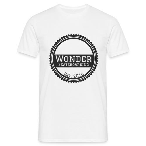 Wonder unisex-shirt round logo - Herre-T-shirt
