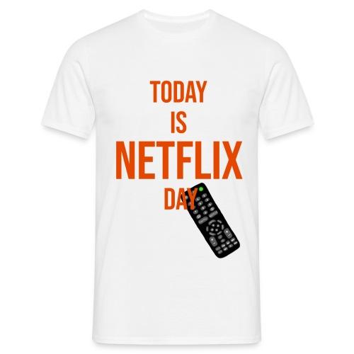 NetflixDAY - Männer T-Shirt