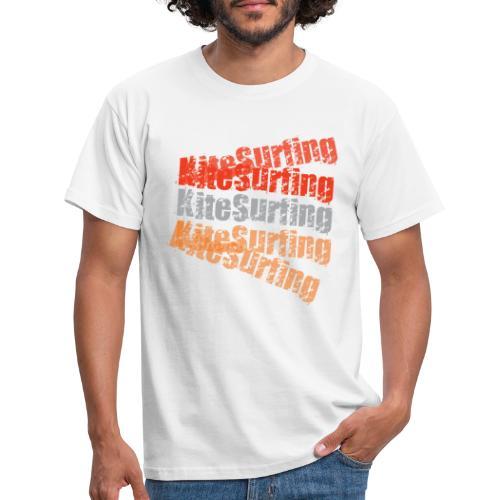 kitesurfing - kiteboard | Zensitivity - Mannen T-shirt