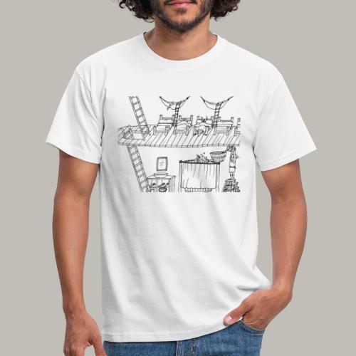 La vie à l'intérieur - T-shirt Homme