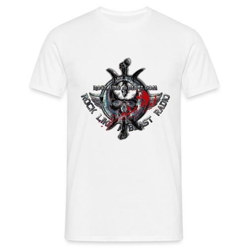 Blood Skull Logo - T-shirt herr