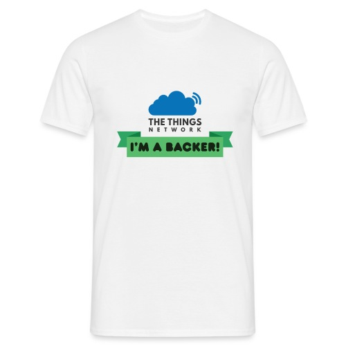 The Things Network Backers - Mannen T-shirt