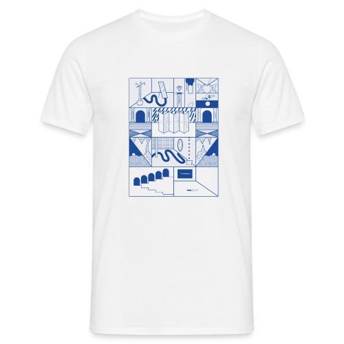 Blue - Männer T-Shirt