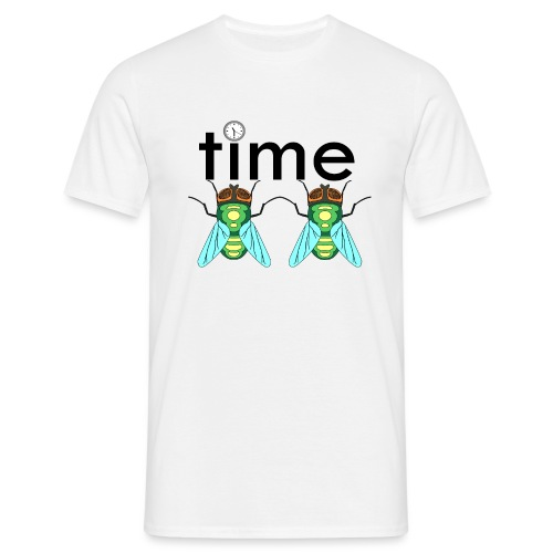 time flies - Herre-T-shirt