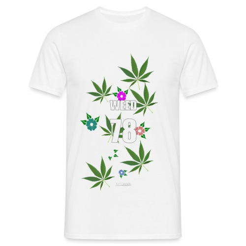 weed png - T-shirt Homme