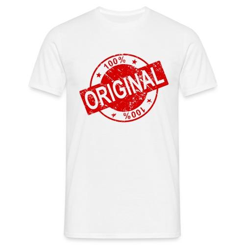 100 percent original - Men's T-Shirt