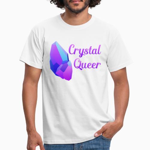 Crystal Queer - Men's T-Shirt