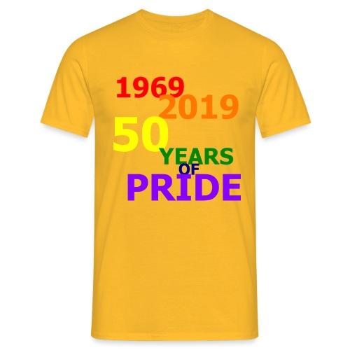 50 Jahre CSD - Männer T-Shirt