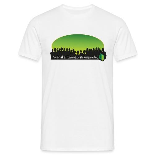 Svenska Cannabisfrämjandet - T-shirt herr