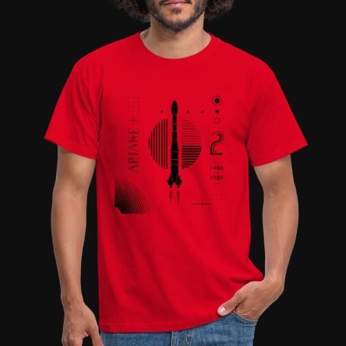 ARIANE 2 - Back Patern - Men's T-Shirt