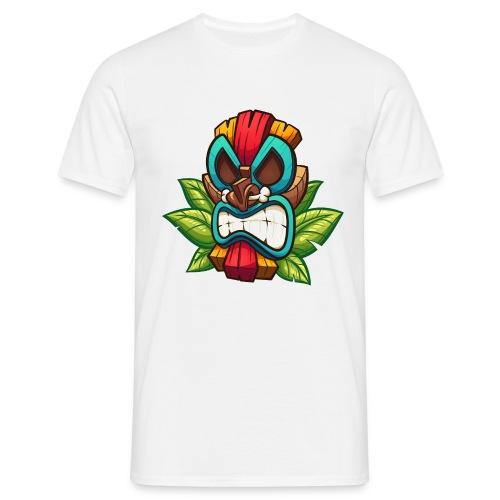 Tiki Mask Bone - Koszulka męska