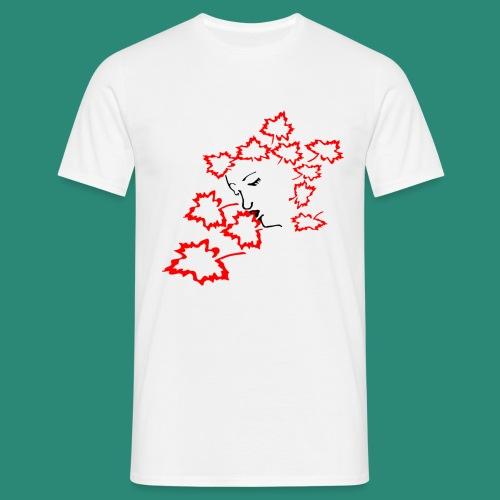 entblätterte Herbstfee - Männer T-Shirt
