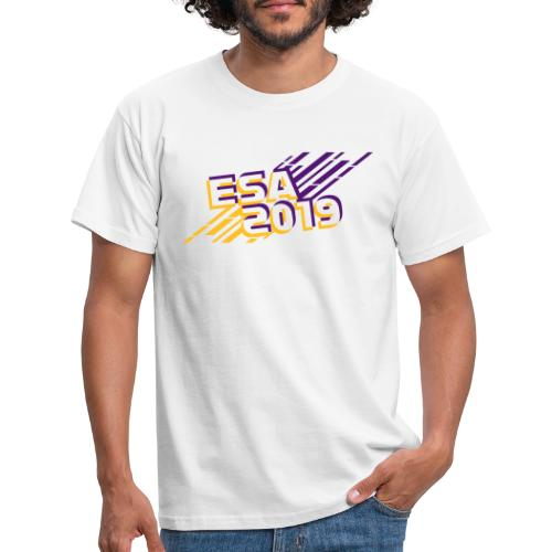 ESA 2019 - Summer Gold and Purple - Men's T-Shirt