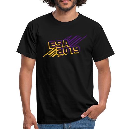ESA 2019 - Summer Gold and Purple - Men's T-Shirt