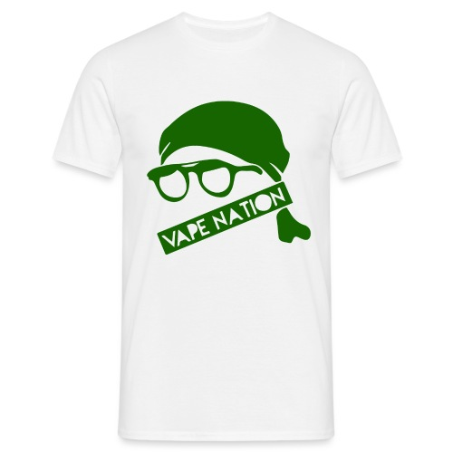 vapenation4000green - Men's T-Shirt