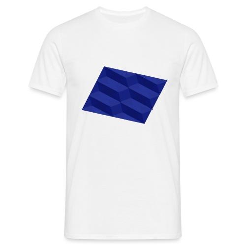 Blue Pattern | SixtyEight - Männer T-Shirt