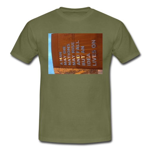 An Idea Lives On - Men's T-Shirt