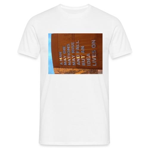 An Idea Lives On - Men's T-Shirt