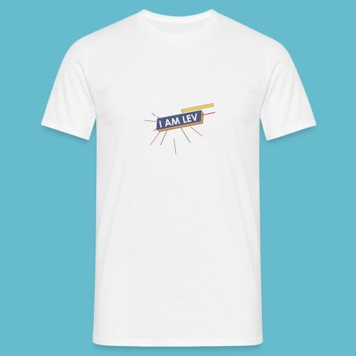 I AM LEV Banner - Mannen T-shirt