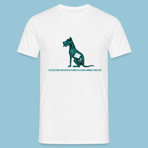 T-shirt femme imprimé Chien au Rayon-X - T-shirt Homme