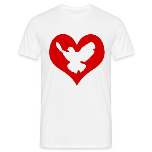 Peace & Love - Männer T-Shirt