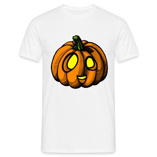 Pumpkin Halloween scribblesirii - Miesten t-paita