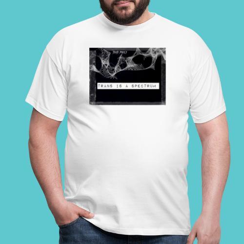 Trans is a spectrum - Men's T-Shirt