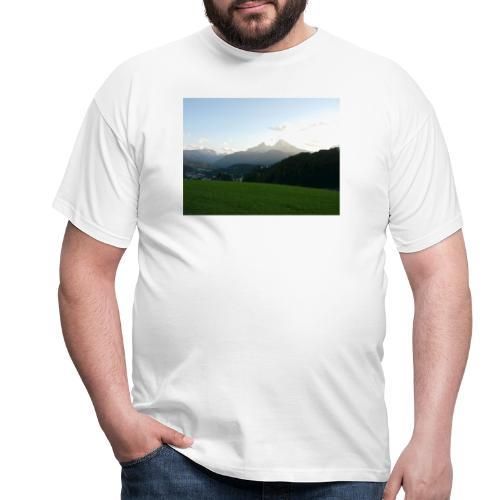 Bergen Bild - Männer T-Shirt