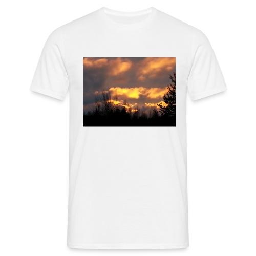 Iltarusko - Miesten t-paita