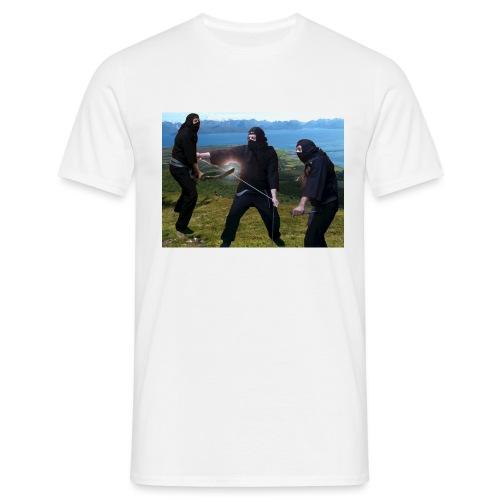 Chasvag ninja - T-skjorte for menn