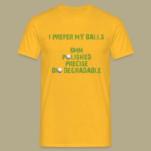 BALLS - Mannen T-shirt