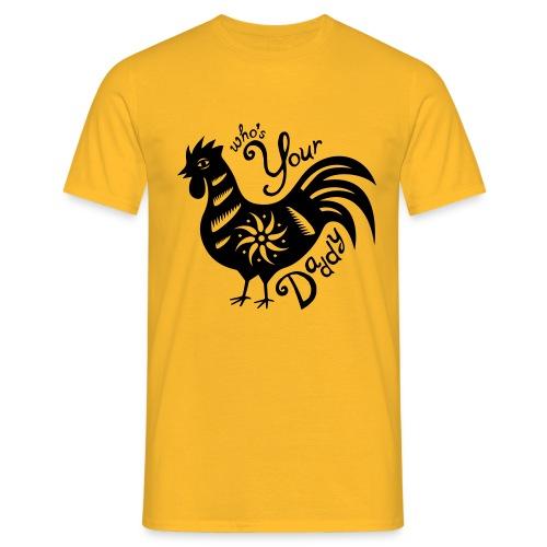 Cock Daddy - Mannen T-shirt