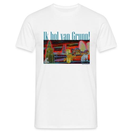 Ik hol van Grunn - Mannen T-shirt