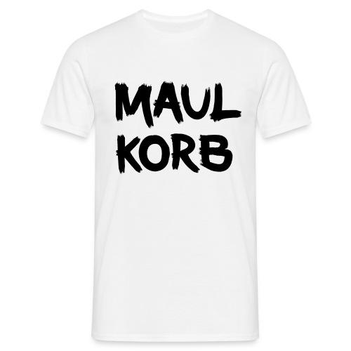 Maulkorb - Männer T-Shirt