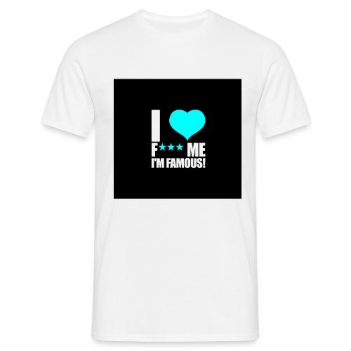 I Love FMIF Badge - T-shirt Homme