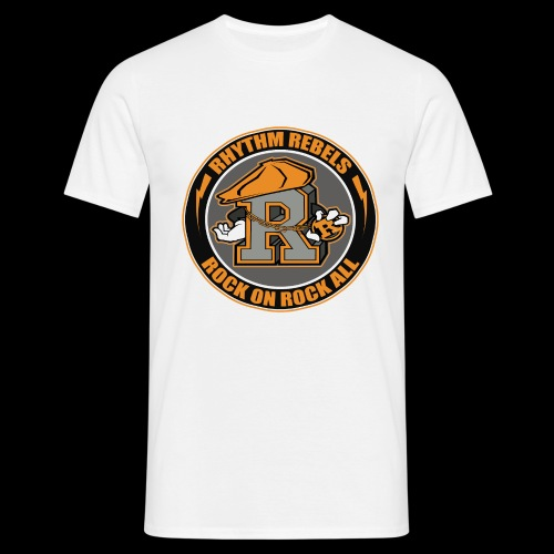 ROCK ON ROCK ALL - Men's T-Shirt