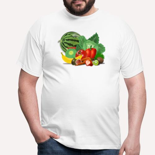 Fruits and vegetables lover - Men's T-Shirt