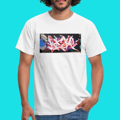 streetart #12 - Mannen T-shirt