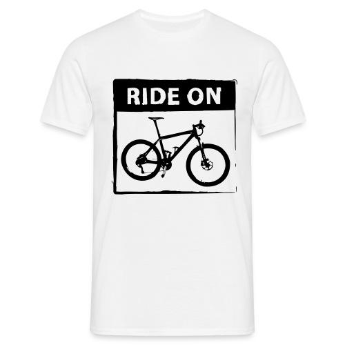 Ride On MTB 1 Color - Männer T-Shirt