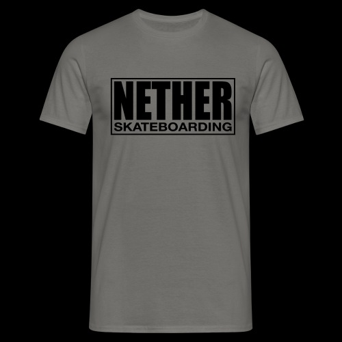 Nether Skateboarding T-shirt Black - Maglietta da uomo