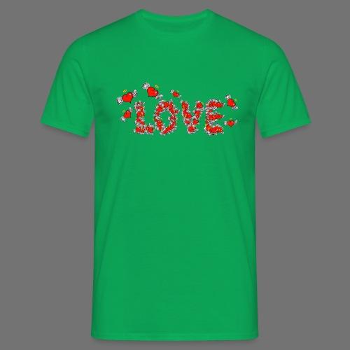 Flying Hearts LOVE - Miesten t-paita