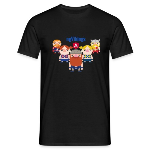 Viking Friends - Men's T-Shirt