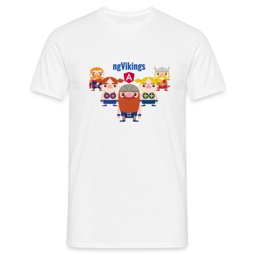 Viking Friends - Men's T-Shirt