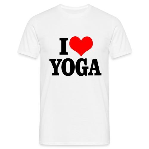 I love yoga - T-shirt Homme
