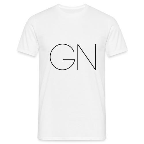 Långärmad tröja GN slim text - T-shirt herr