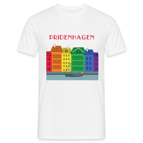 PRIDENHAGEN NYHAVN T-SHIRT - Herre-T-shirt