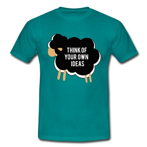 Think of your own idea! - Men's T-Shirt