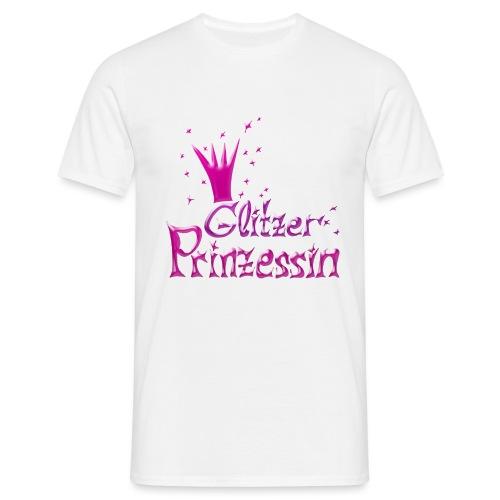 Rosa Glitzer Prinzessin - Männer T-Shirt